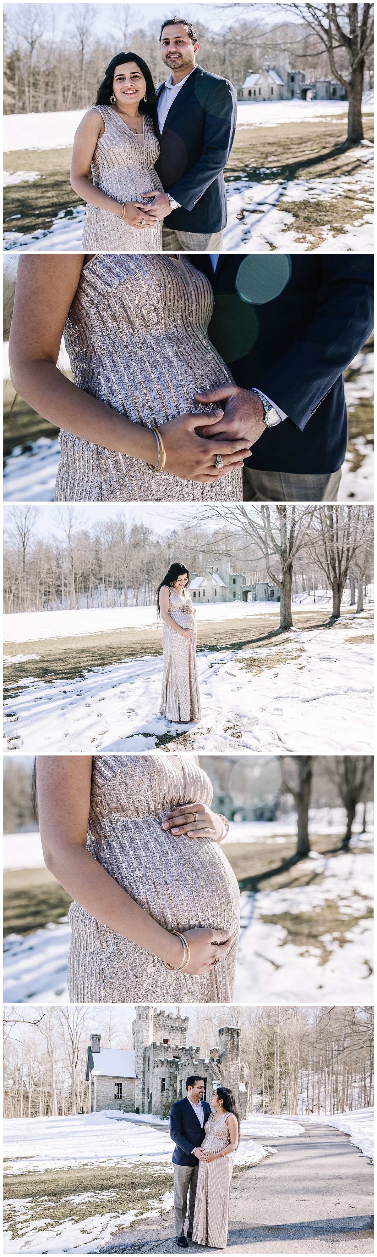 Northeast Ohio Wedding and Portrait Photographer, Squire's Castle Maternity Session