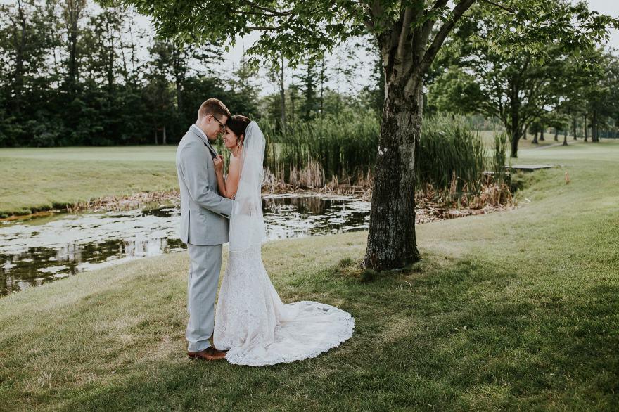 Jessica & Aaron - Quail Hollow Country Club - Northeast Ohio wedding Photographer