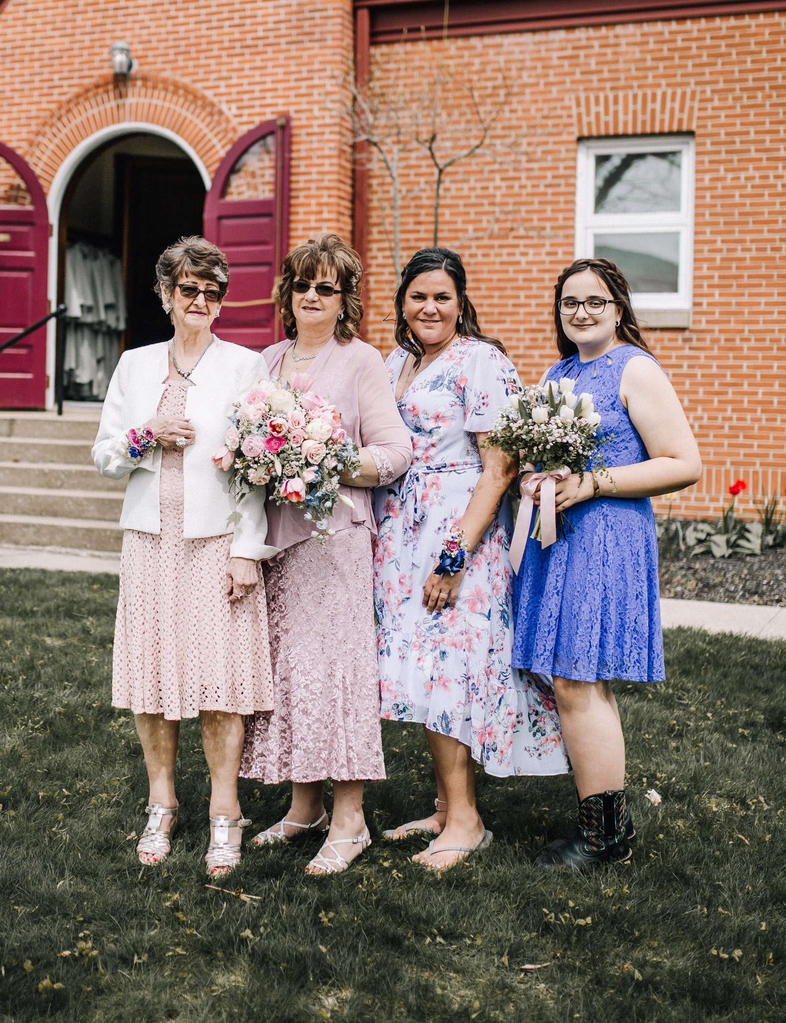 Four generations - Northeast Ohio Wedding