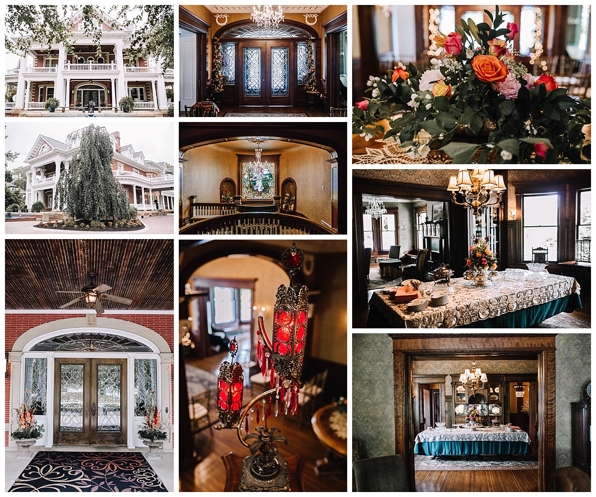 Dania & Jason - Northeast Ohio Wedding Photographer -Sebring Mansion Inn & Spa