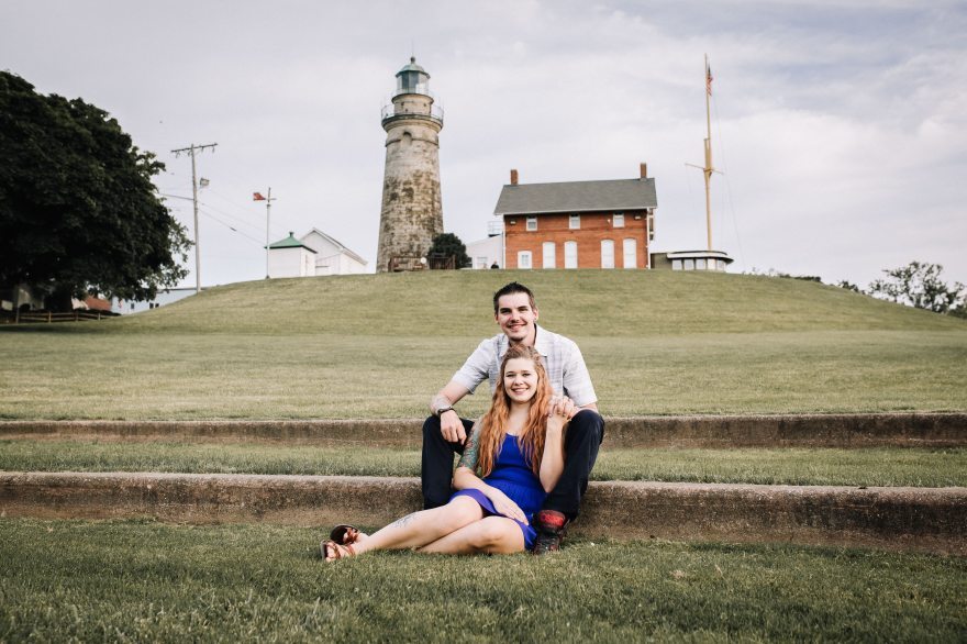 Northeast Ohio Wedding Photographer - Stacy & David's Engagement Session