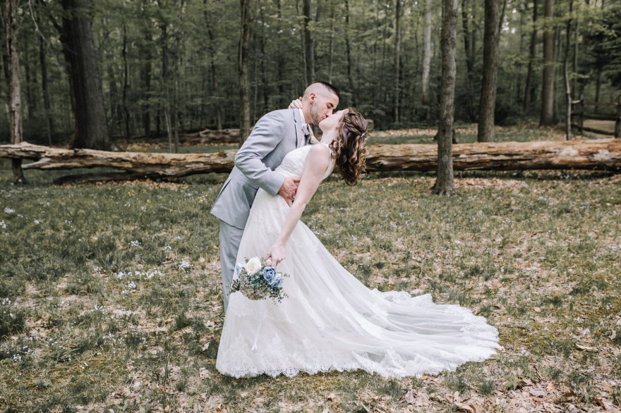 Mr. & Mrs. Repko - Northeast Ohio Wedding Photographer -Happy Days Lodge