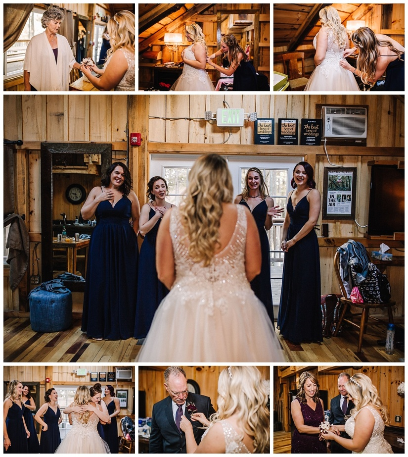 Northeast Ohio Wedding Photographer - The Grand Barn at The Mohicans - Liz & Matt