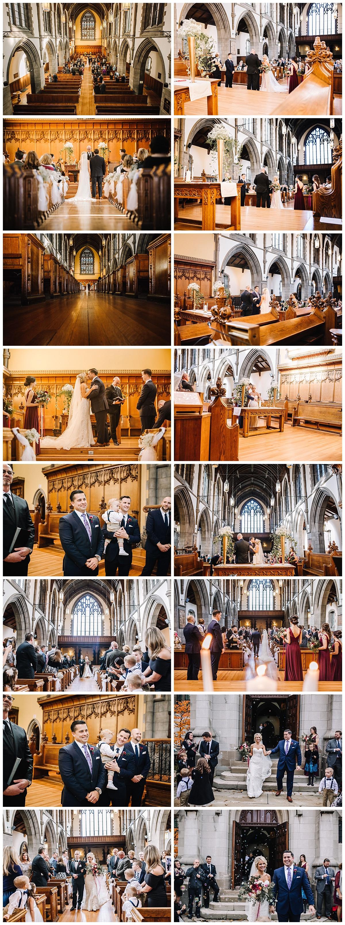 Old Stone Church - Cleveland - Northeast Ohio Wedding Photographer