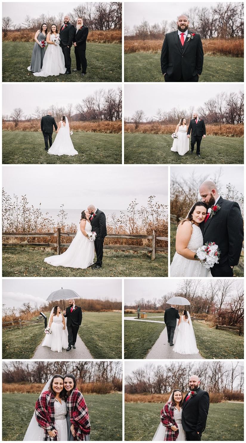 Lake Erie Bluffs - Northeast Ohio Wedding Photographer
