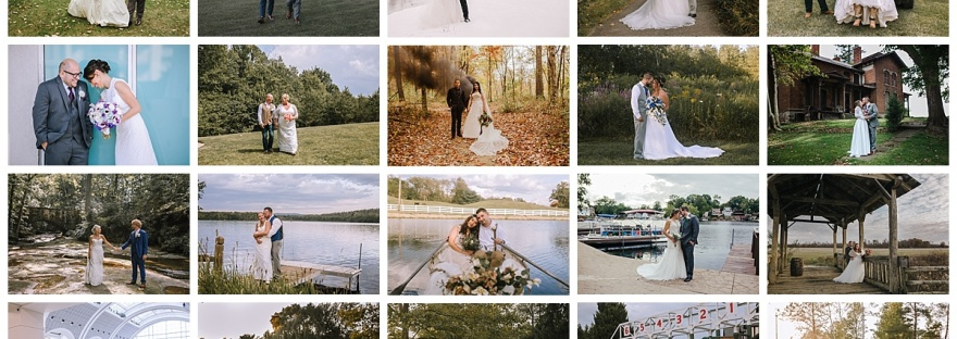 Every wedding from 2019! From Cleveland, to Maine, to Miami, and even Hocking Hills!