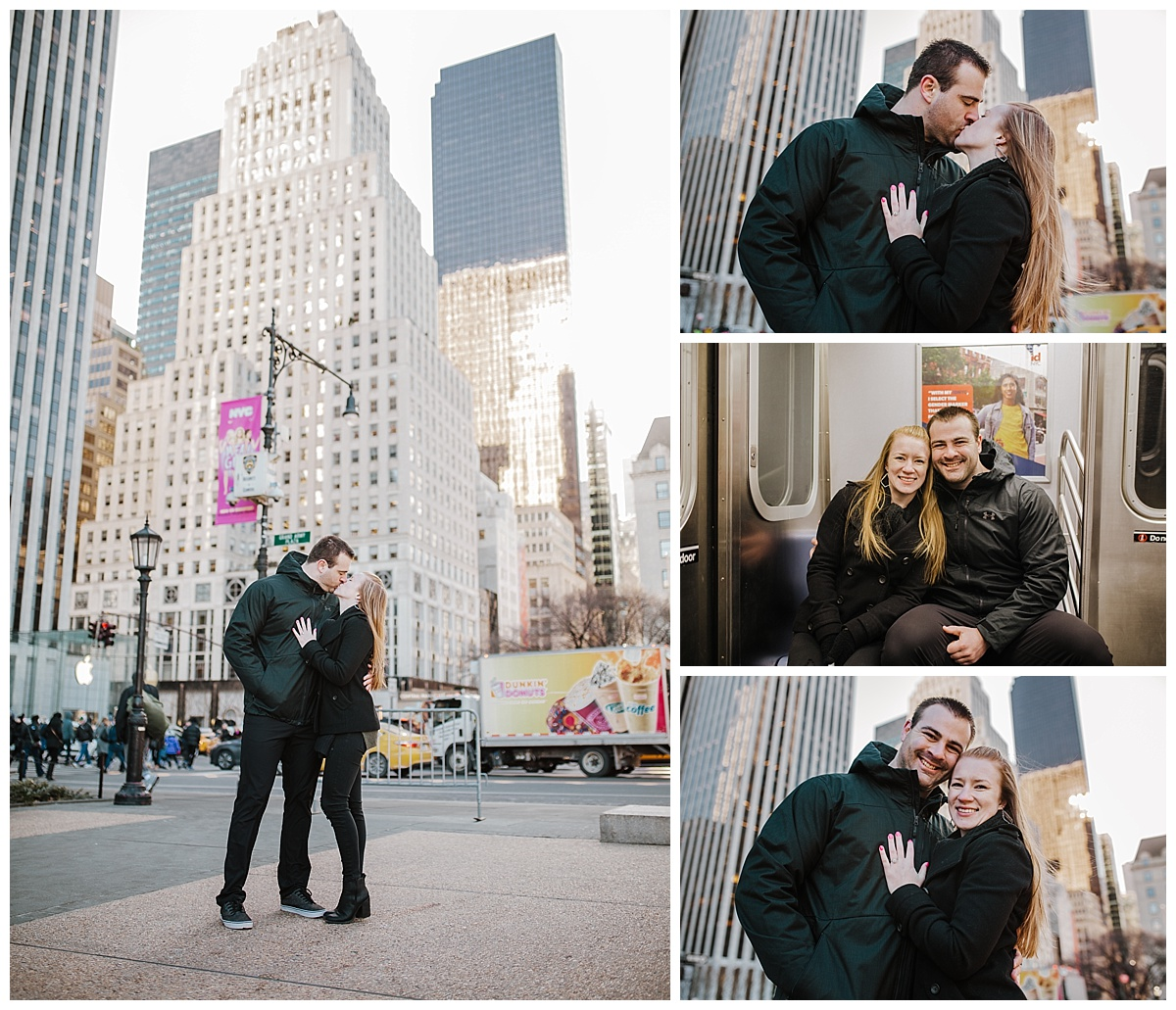 Manhattan - NYC Destination Engagement Session - Sara & Tim